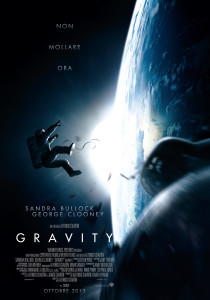 "Movie Poster ""Gravity"" - Ottobre 2013 - Warner Bros Picture"