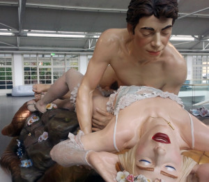Jeff and Ilona (Made in Heaven), 1990 di Jeff Koons