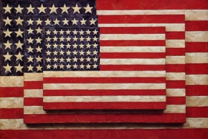 Three Flags (1958) di Jasper Johns