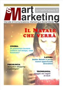 La Copertina di Smart Marketing n.7  del Novembre 2014.