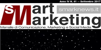 Copertina Smart Marketing Anno IV n.41 – Settembre 2017