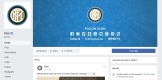 Inter FC, strategia social e Facebook