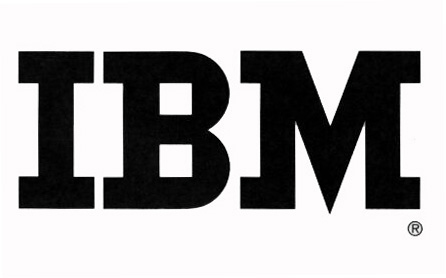 Fig. 1 Logo Ibm del 1956
