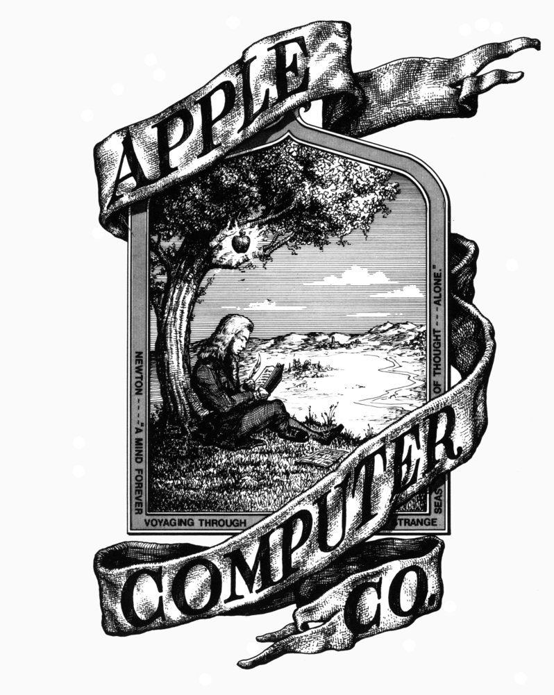Fig. 4 Primo logo Apple del 1976