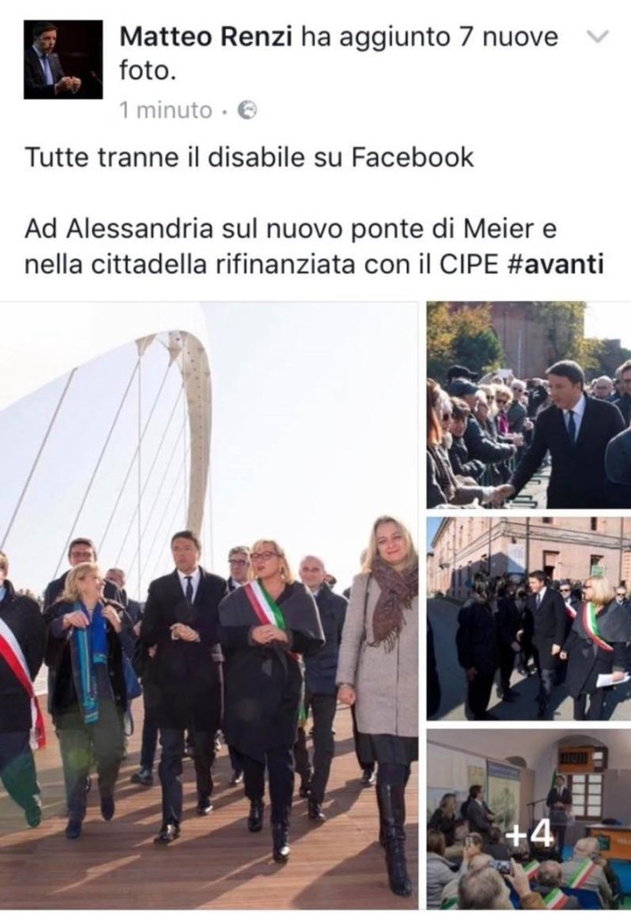 Epic fail di Matteo Renzi