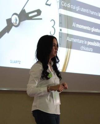 Giulia Verzeletti, esperta di Inbound Marketing Automation