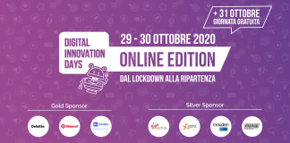 Il Digital Innovation Days Italy 2020 sta arrivando: scopri il programma!