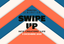 "Arriva ""SWIPE UP - Into creators' life"", l'evento online di MARKETERs Generation 2020"
