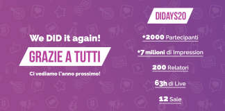 Digital Innovation Days Italy 2020: i numeri della prima online edition.